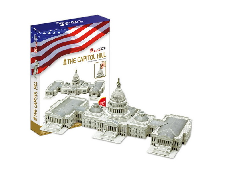 3D Puzzle The Capitol Hill